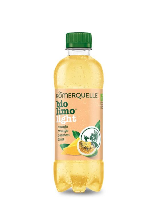 Romerquelle Bio Limo gazirana pijača z mangom in marakujo v plastenki, 375ml.