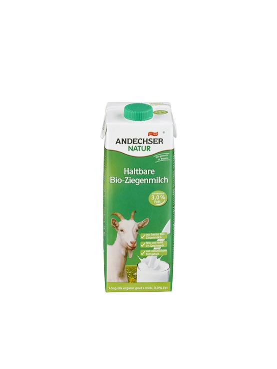 Andechser kozje mleko s 3,0% mlečne masti.