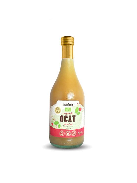 Nutrigold ekološki jabolčni kis v steklenici, 0,75l.