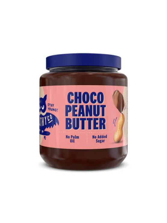 HealthyCo čokoladno arašidovo maslo v plastični embalaži, 320g.