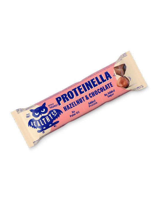 HealthyCo Proteinella beljakovinska čokoladica v plastični embalaži, 35g.
