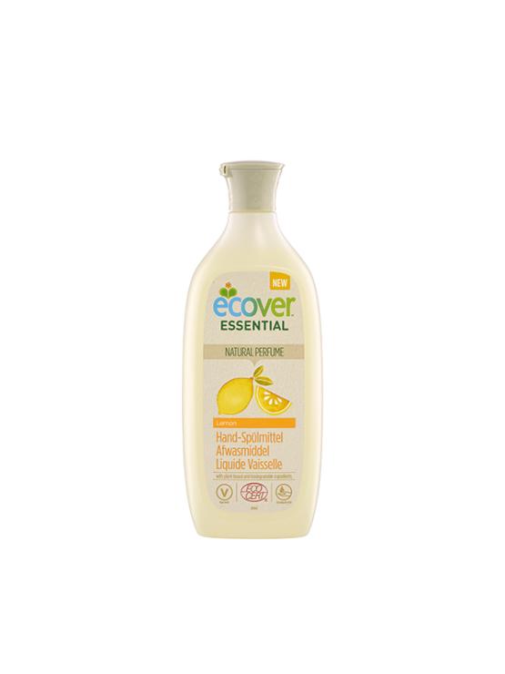 Ecover detergent za pomivanje posode z limono, 500ml, v embalaži, ki jo je mogoče reciklirati.