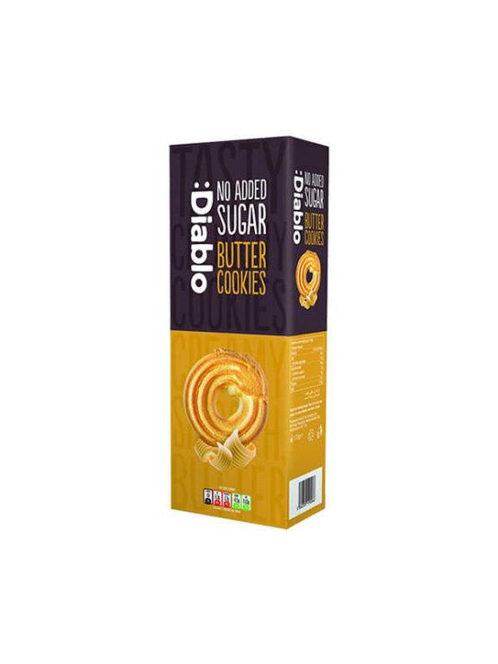 Diablo Čajni piškoti brez dodanega sladkorja v kartonski embalaži, 135g.