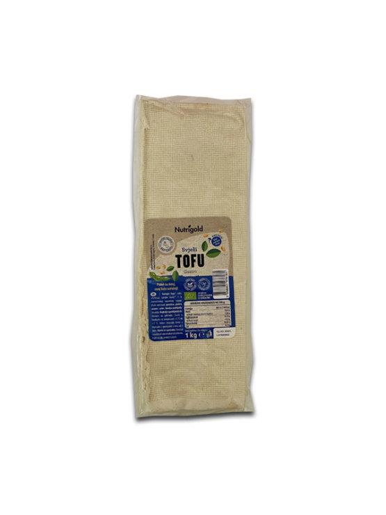 Nutrigold ekološki sveži gastro tofu v vakuumirani prozorni embalaži, 1000g.