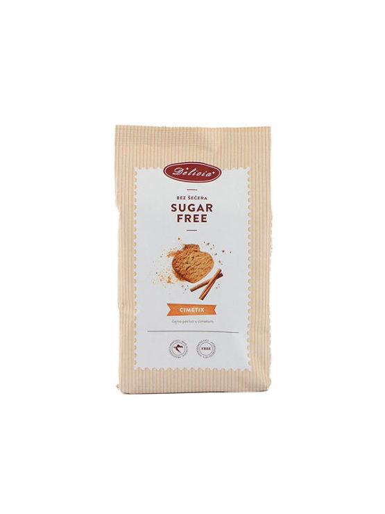 Delicia Cimetix piškoti s cimetom brez sladkorja v papirnati embalaži, 200g.