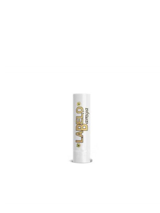 Bamija balzam za ustnice z vanilijo v beli plastičbni embalaži, 10g.