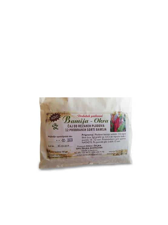 Bamija Okrin čaj v papirnati embalaži, 50g.
