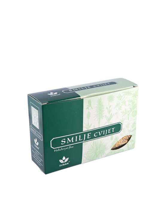 Suban Smilj cvet v kartonski embalaži, 25g.