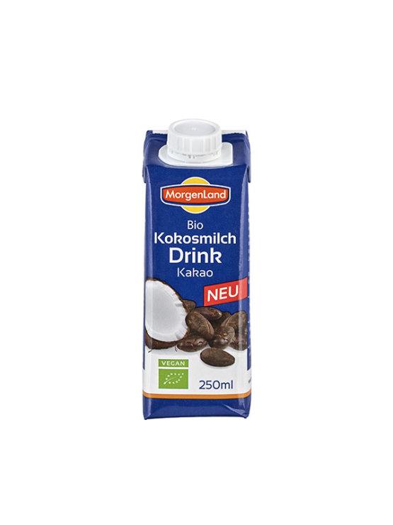 Morgenland ekološko kokosovo mleko s kakavom v tetrapaku, 250ml.