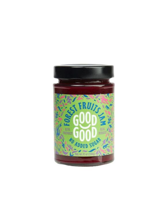 Via Healthy džem iz gozdnih sadežev s stevijo v kozarcu, 330g.