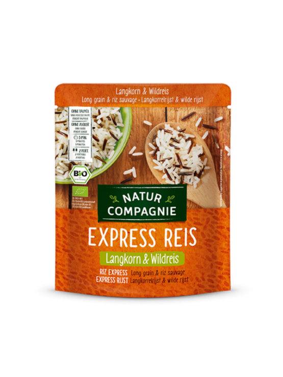 Natur Compagnie express doglozrnati in divji riž v plastični embalaži, 250g.