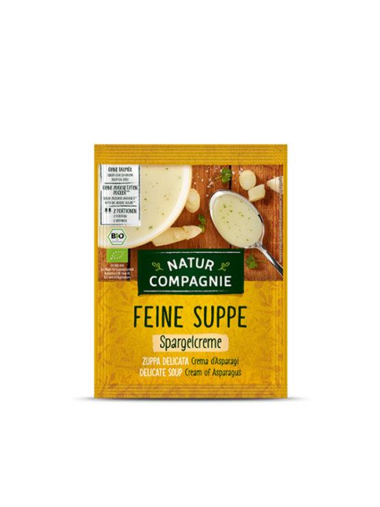 Natur Compagnie ekološka kremna juha iz špargljev v vrečki, 40g.