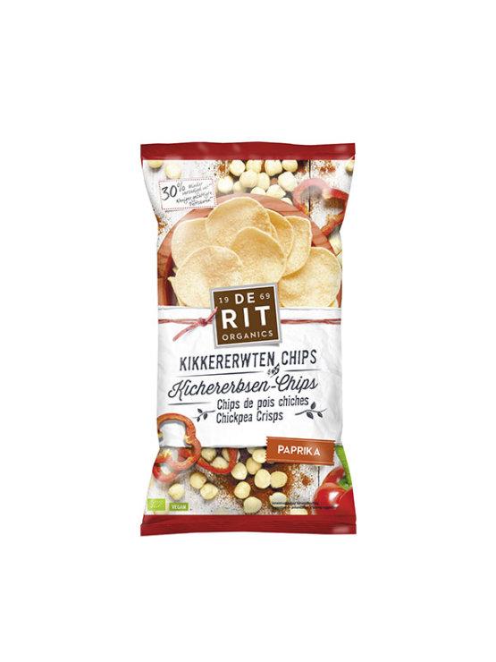 De Rit ekološki čips iz čičerike s papriko v plastični embalaži, 75g.