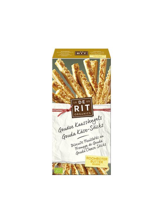 De Rit ekološke gouda palčke v kartonski embalaži, 100g.