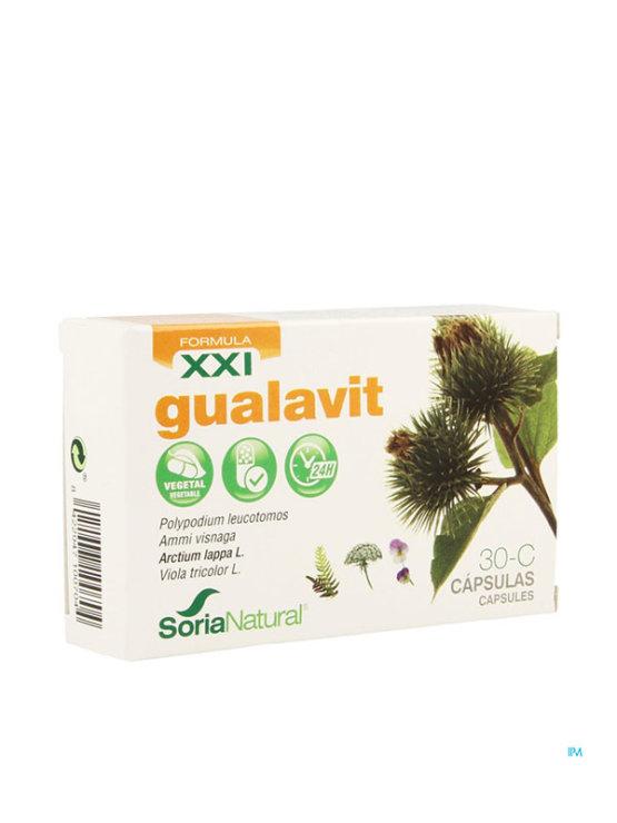 Soria Natural gualavit XXL kapsule v kartonski embalaži, 30 kapsul.