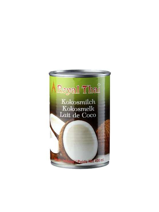Royal Thai Kokosovo mleko v pločevinki, 400ml.