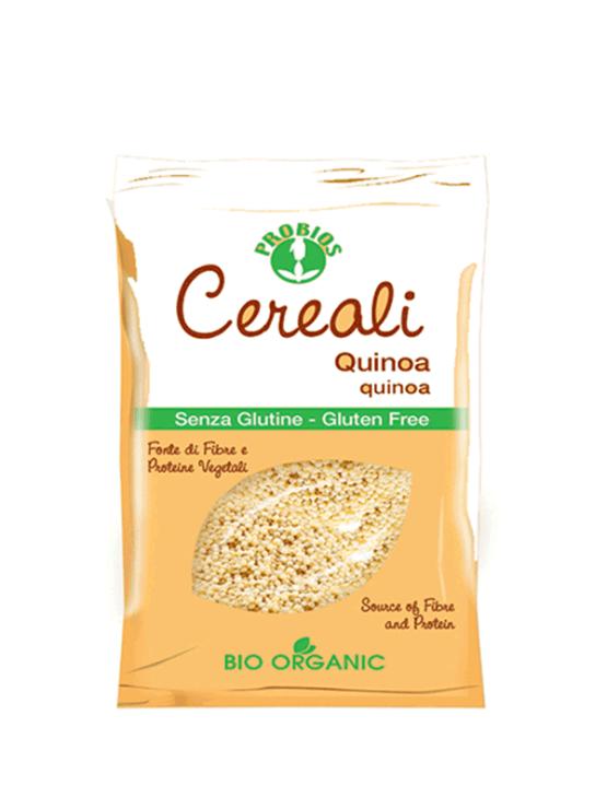 Probios ekološka kvinoja brez glutena v plastični embalaži, 400g.