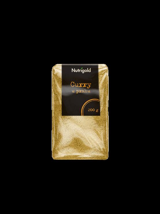 Nutrigold curry v prahu v 200 gramski prozorni ni embalaži.plastič