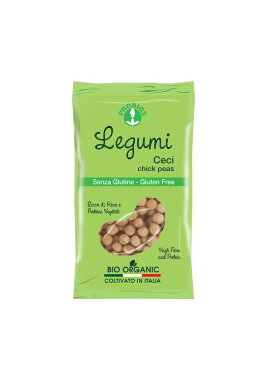 Probios ekološka čičerika brez glutena v zeleni plastični embalaži, 400g.