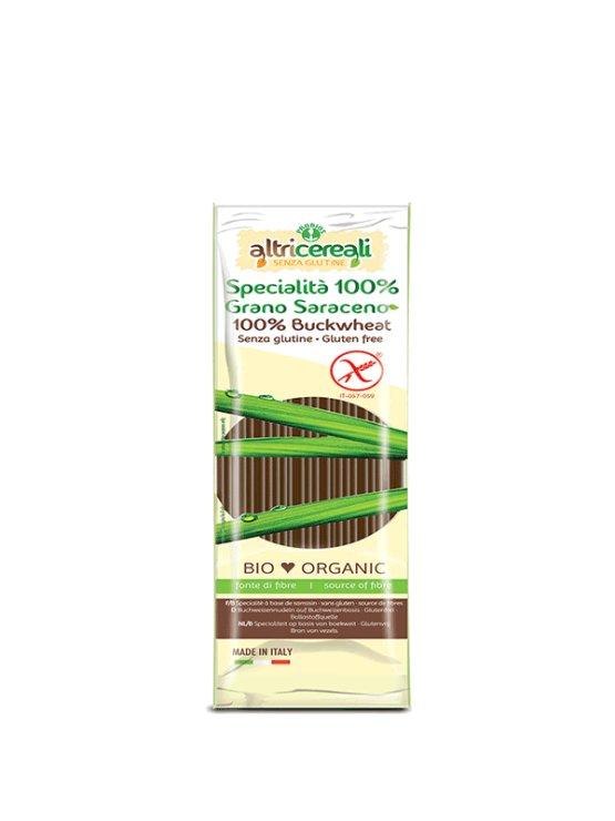 Probios ekološki ajdovi špageti brez glutena v kartonski embalaži, 250g.