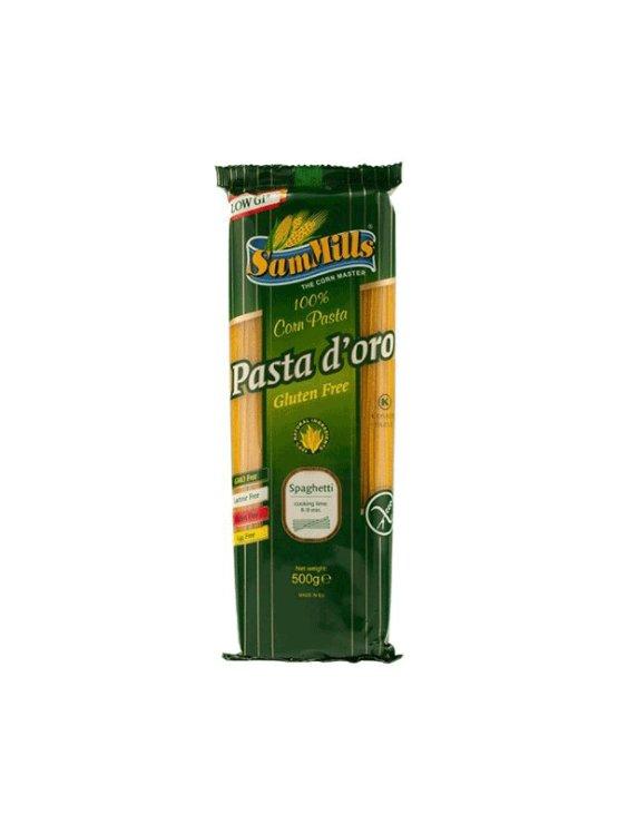 Sam Mills koruzne testenine Špageti v plastični embalaži, 500g.